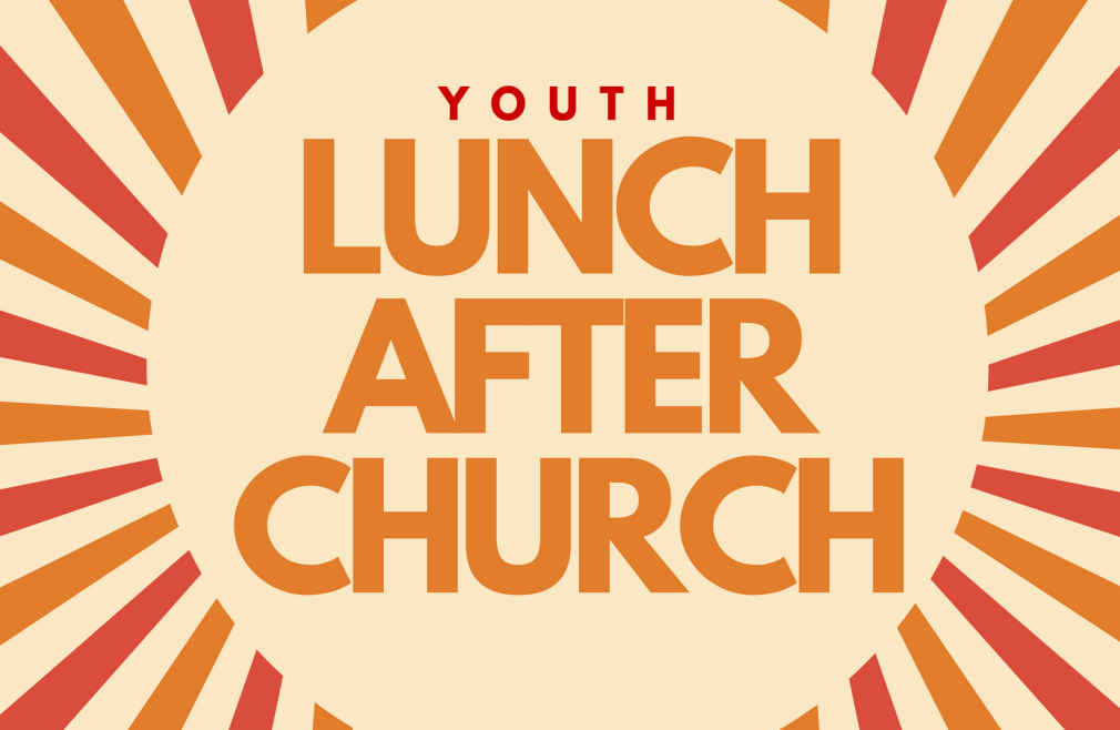 3rd Sunday Youth Lunch